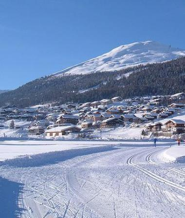 Italské Livigno a běh na lyžích 1bb20e6669