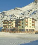 Italský hotel Interalpen v zimě
