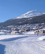 Livigno a běžkařská trasa