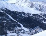 Část skiareálu Motolino